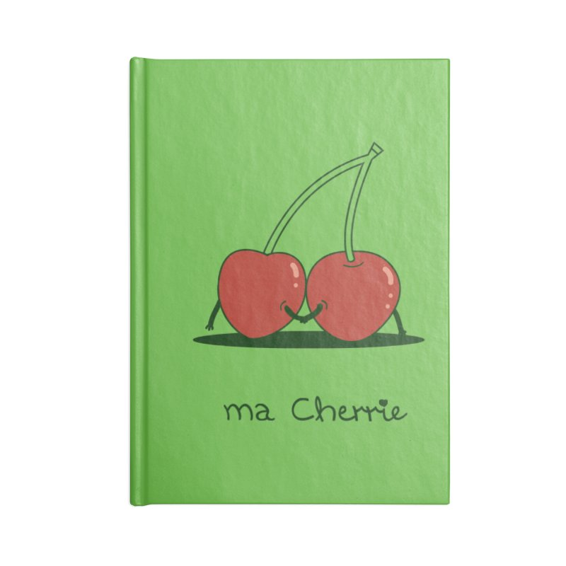 Ma Cherrie Accessories Blank Journal Notebook by agrimony // Aaron Thong