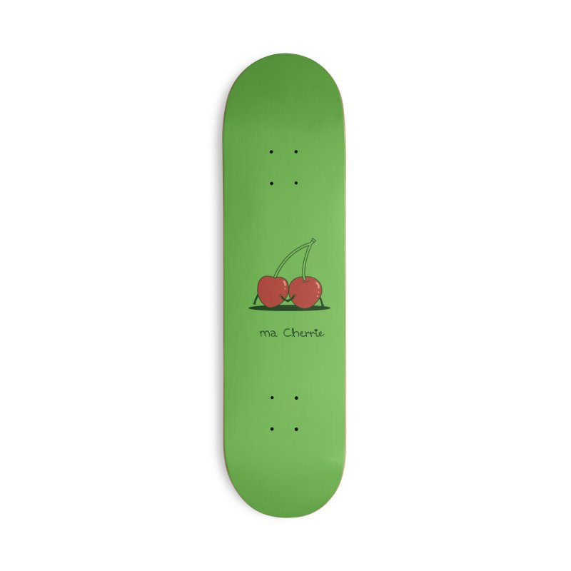 Ma Cherrie Accessories Deck Only Skateboard by agrimony // Aaron Thong