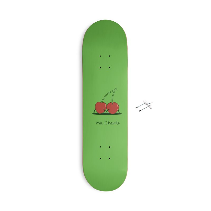 Ma Cherrie Accessories With Hanging Hardware Skateboard by agrimony // Aaron Thong