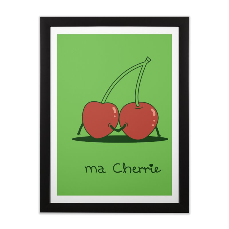 Ma Cherrie Home Framed Fine Art Print by agrimony // Aaron Thong