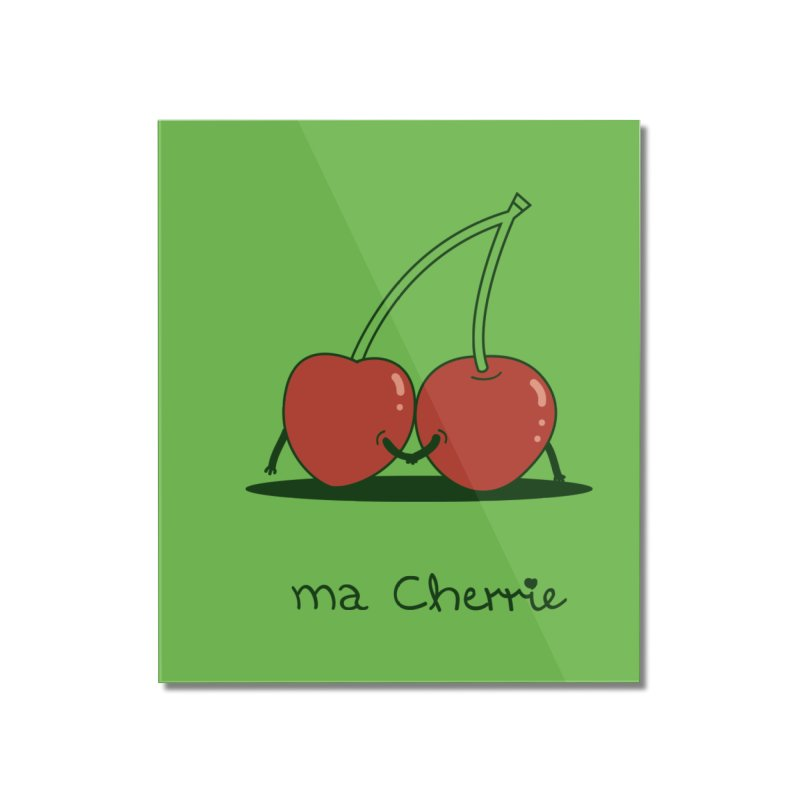 Ma Cherrie Home Mounted Acrylic Print by agrimony // Aaron Thong