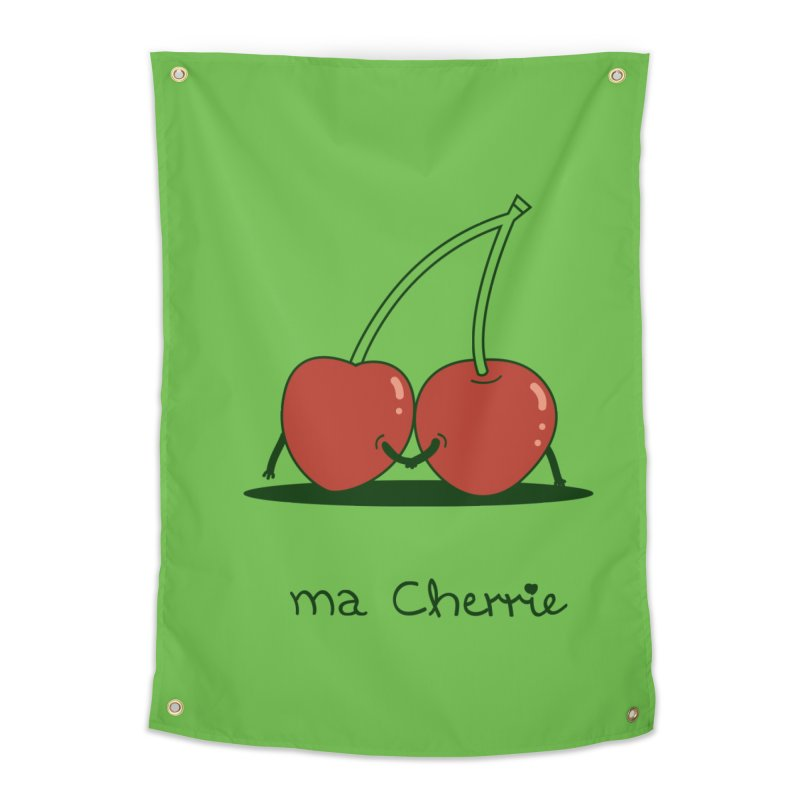 Ma Cherrie Home Tapestry by agrimony // Aaron Thong