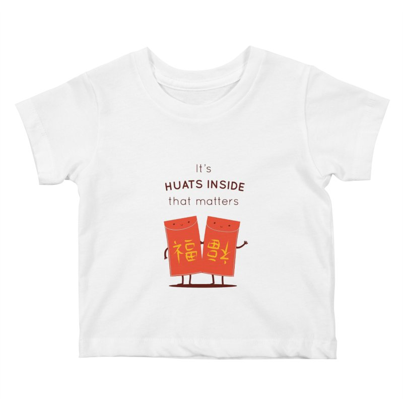 Huats Inside that matters Kids Baby T-Shirt by agrimony // Aaron Thong