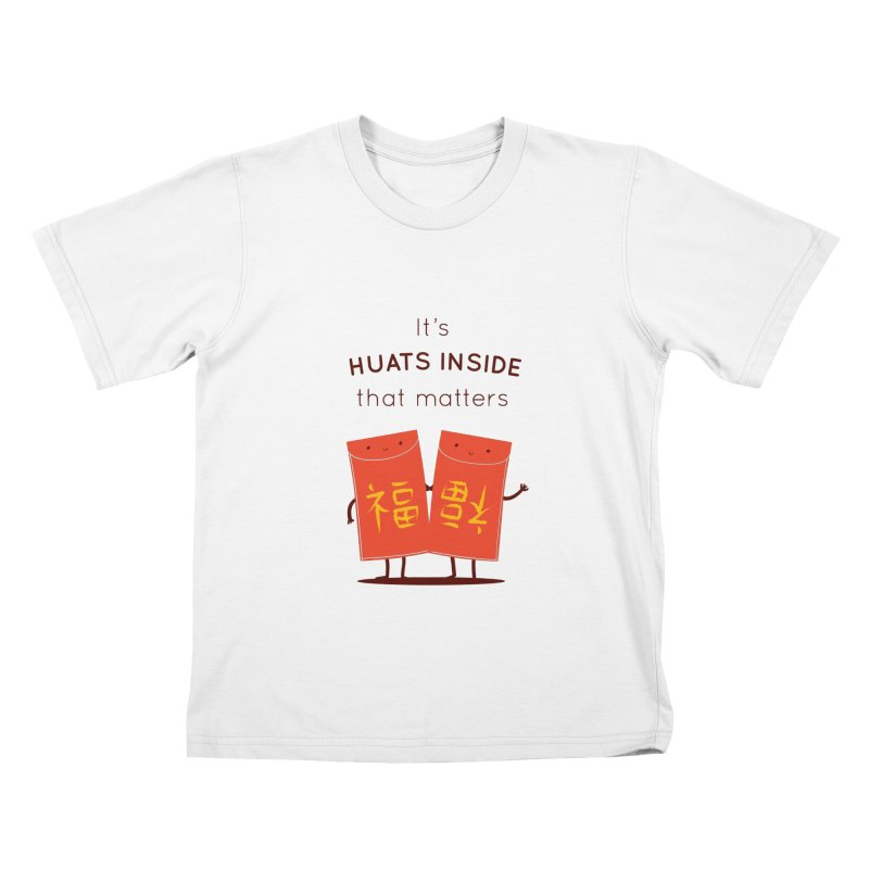 Huats Inside that matters Kids T-Shirt by agrimony // Aaron Thong