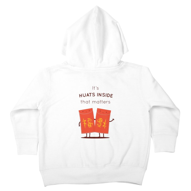 Huats Inside that matters Kids Toddler Zip-Up Hoody by agrimony // Aaron Thong