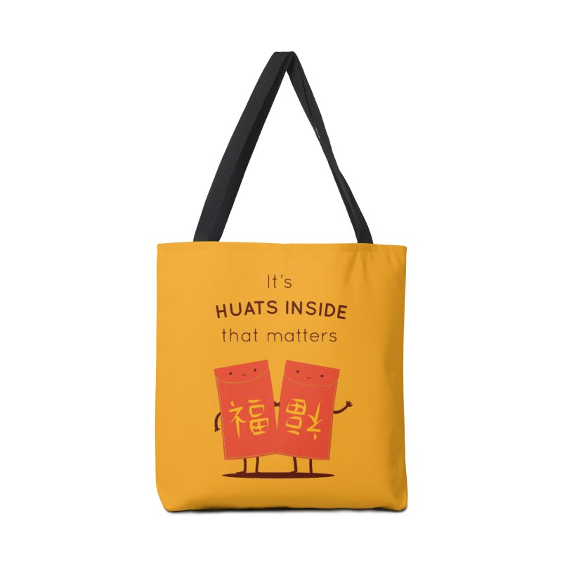 Huats Inside that matters Accessories Tote Bag Bag by agrimony // Aaron Thong