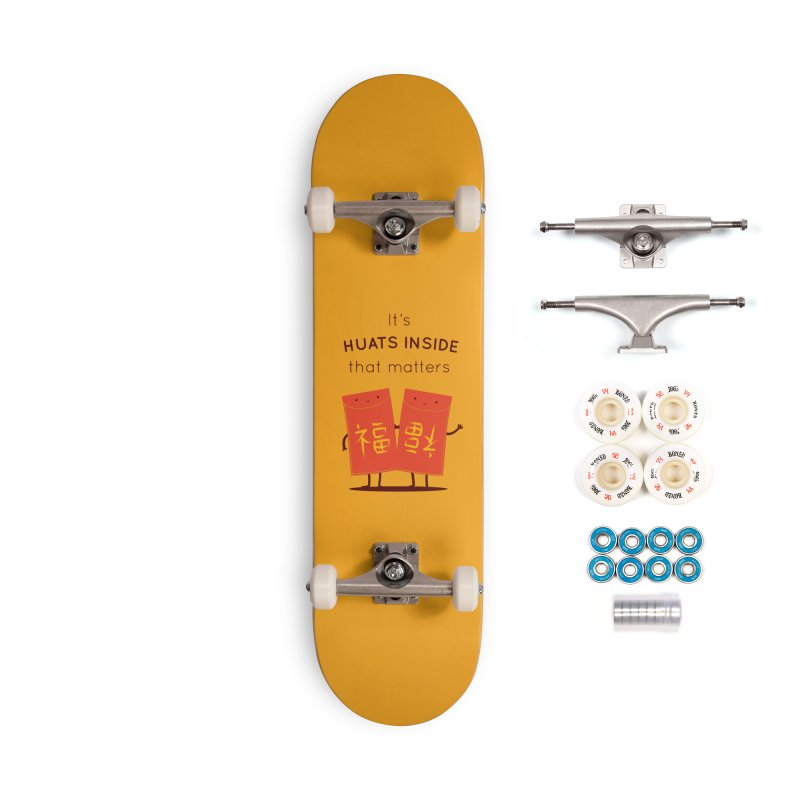 Huats Inside that matters Accessories Complete - Premium Skateboard by agrimony // Aaron Thong