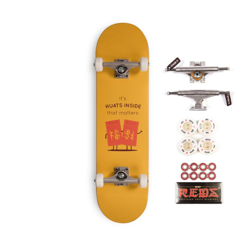 Huats Inside that matters Accessories Complete - Pro Skateboard by agrimony // Aaron Thong