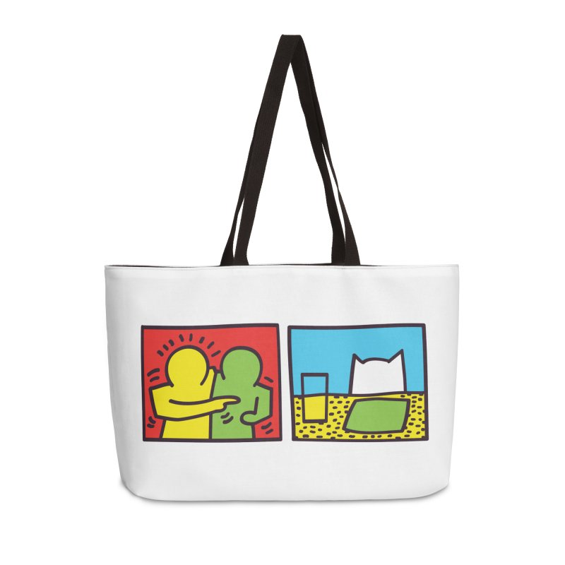 Requiem For a Meme Accessories Weekender Bag Bag by agrimony // Aaron Thong