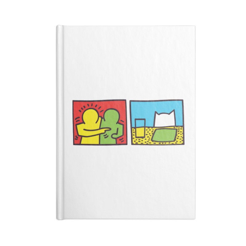 Requiem For a Meme Accessories Blank Journal Notebook by agrimony // Aaron Thong