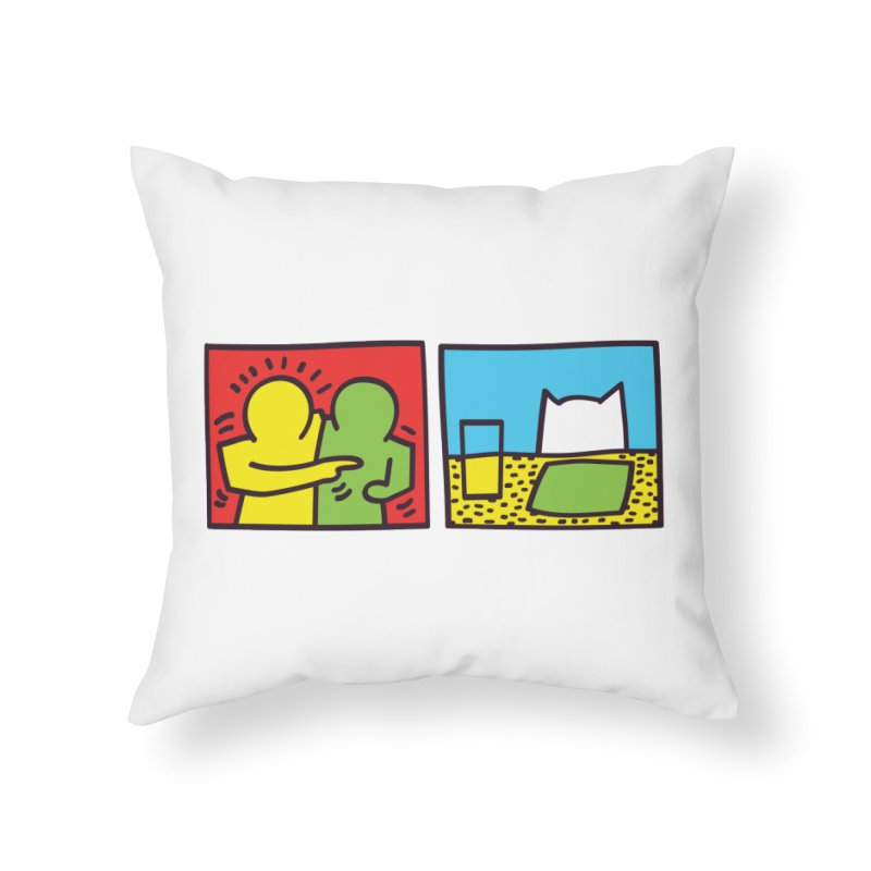 Requiem For a Meme Home Throw Pillow by agrimony // Aaron Thong