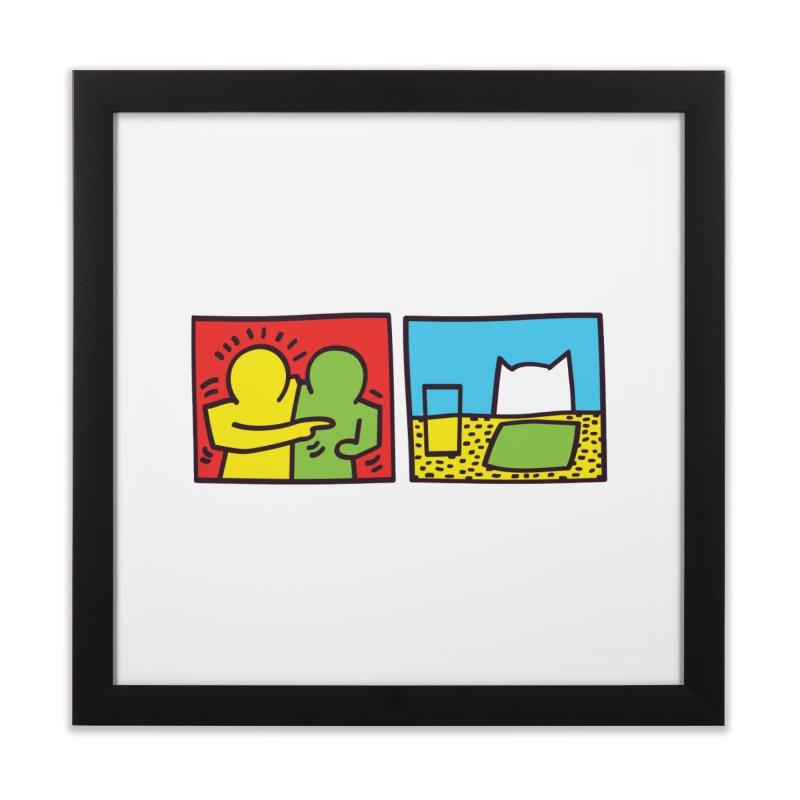 Requiem For a Meme Home Framed Fine Art Print by agrimony // Aaron Thong