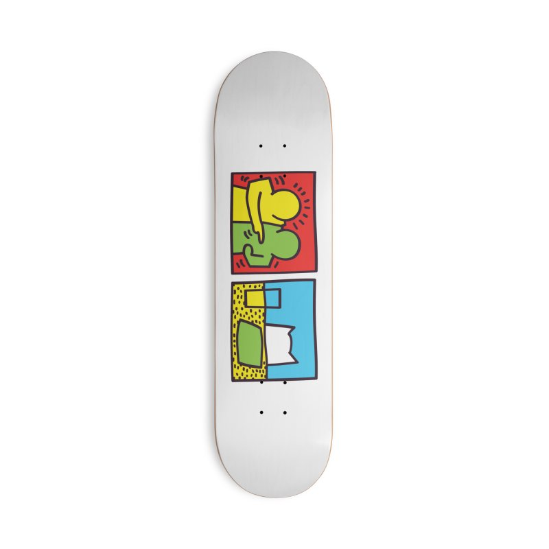 Requiem For a Meme Accessories Deck Only Skateboard by agrimony // Aaron Thong