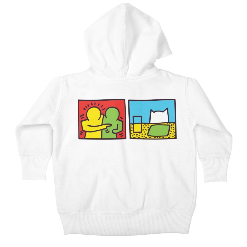 Requiem For a Meme Kids Baby Zip-Up Hoody by agrimony // Aaron Thong