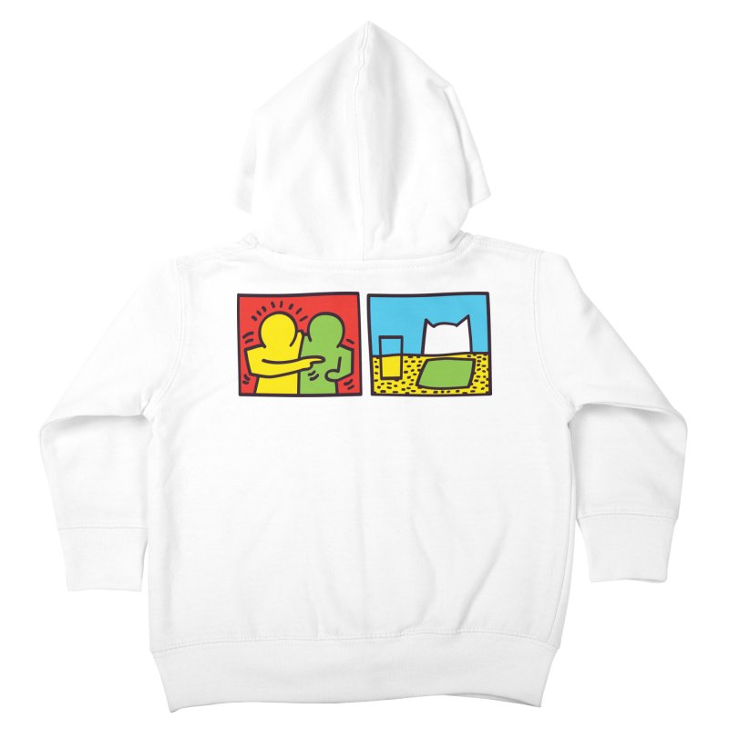 Requiem For a Meme Kids Toddler Zip-Up Hoody by agrimony // Aaron Thong