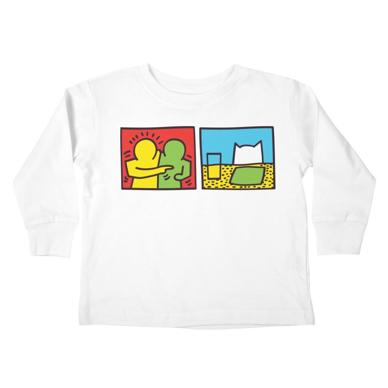 Requiem For a Meme Kids Toddler Longsleeve T-Shirt by agrimony // Aaron Thong