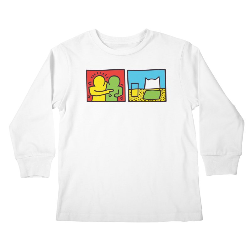 Requiem For a Meme Kids Longsleeve T-Shirt by agrimony // Aaron Thong