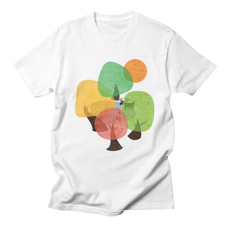 Abstract Woods Men's T-Shirt by agrimony // Aaron Thong