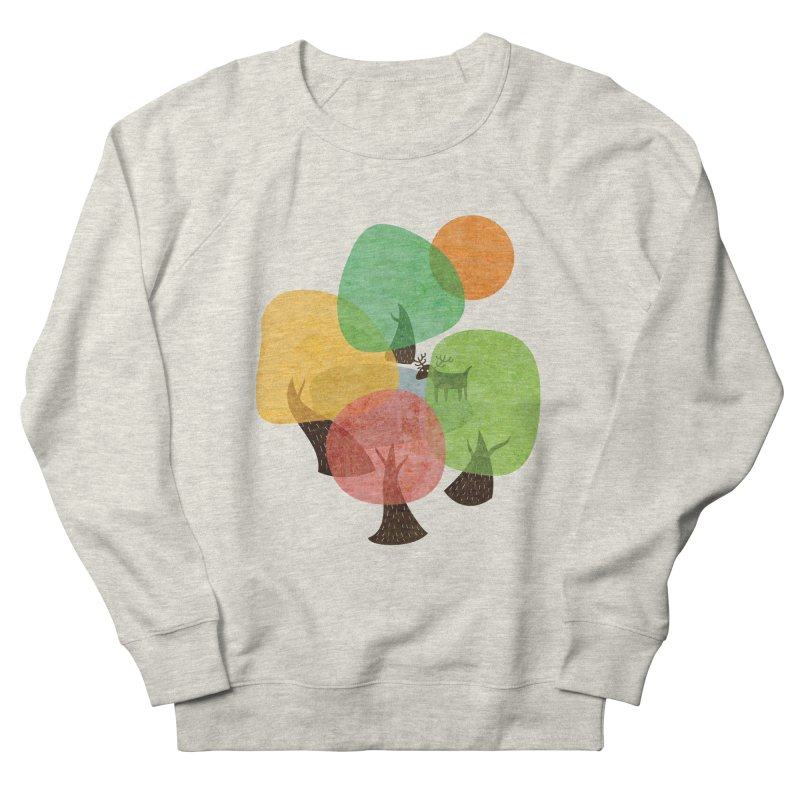 Abstract Woods Men's French Terry Sweatshirt by agrimony // Aaron Thong