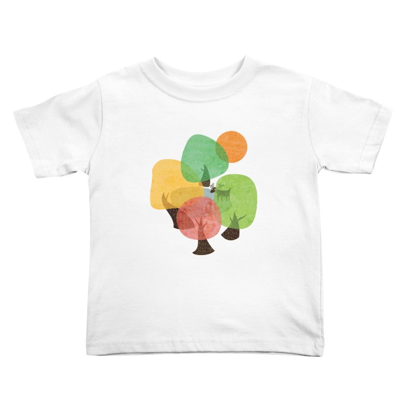 Abstract Woods Kids Toddler T-Shirt by agrimony // Aaron Thong