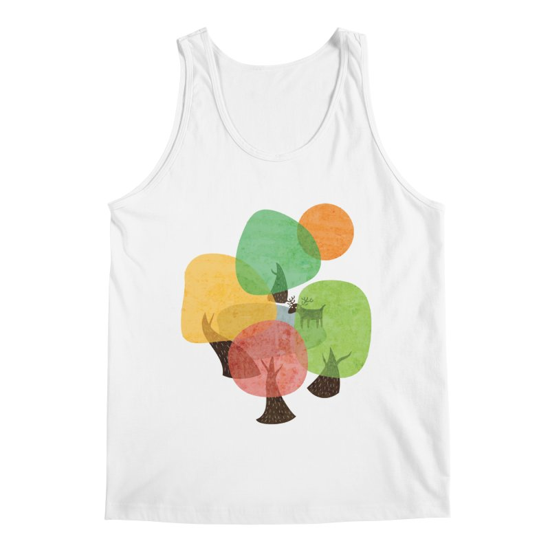 Abstract Woods Men's Regular Tank by agrimony // Aaron Thong