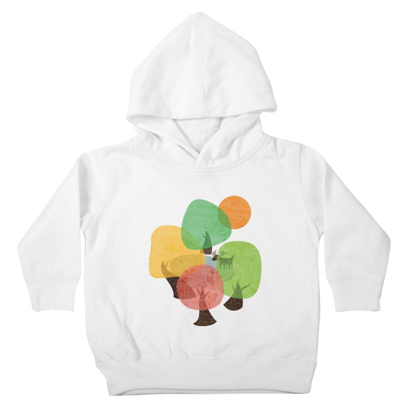 Abstract Woods Kids Toddler Pullover Hoody by agrimony // Aaron Thong