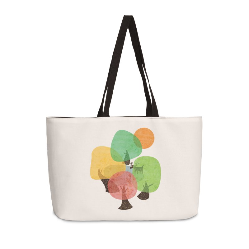 Abstract Woods Accessories Weekender Bag Bag by agrimony // Aaron Thong