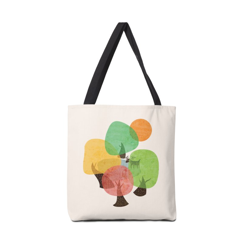 Abstract Woods Accessories Tote Bag Bag by agrimony // Aaron Thong