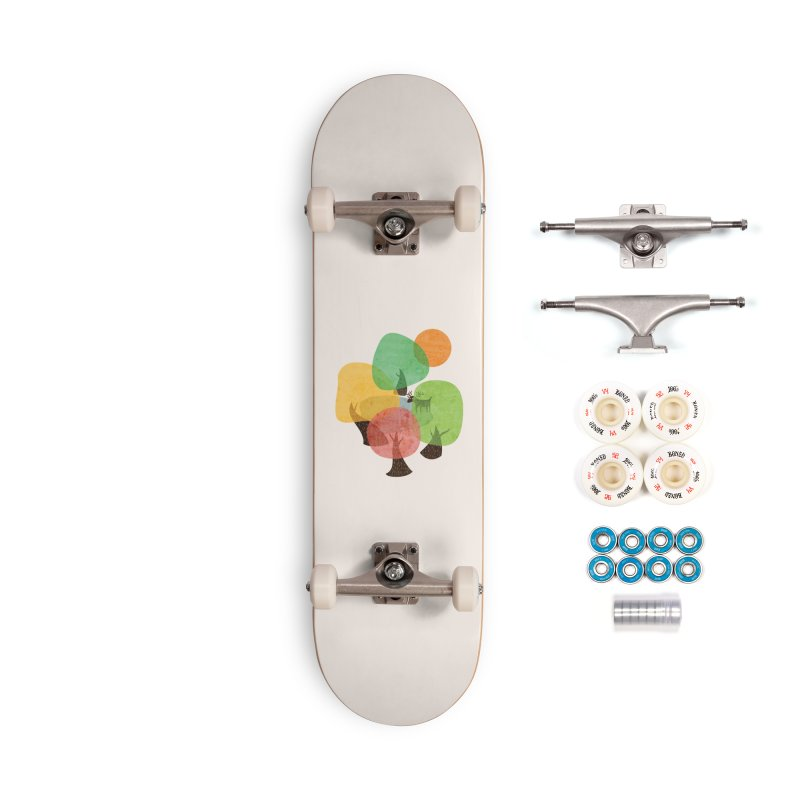 Abstract Woods Accessories Complete - Premium Skateboard by agrimony // Aaron Thong