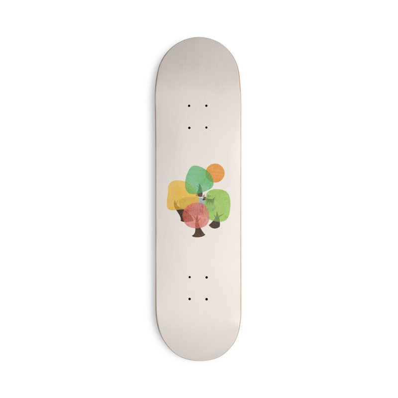 Abstract Woods Accessories Deck Only Skateboard by agrimony // Aaron Thong