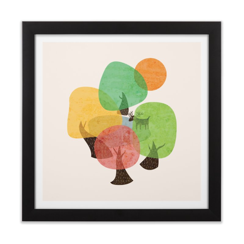 Abstract Woods Home Framed Fine Art Print by agrimony // Aaron Thong