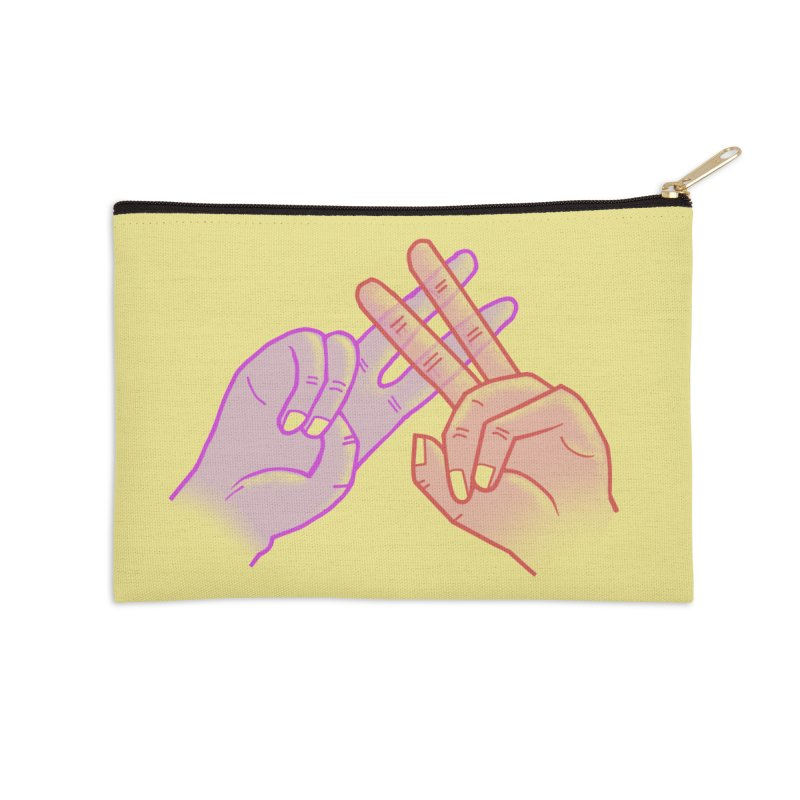 #Hashtag Accessories Zip Pouch by agrimony // Aaron Thong