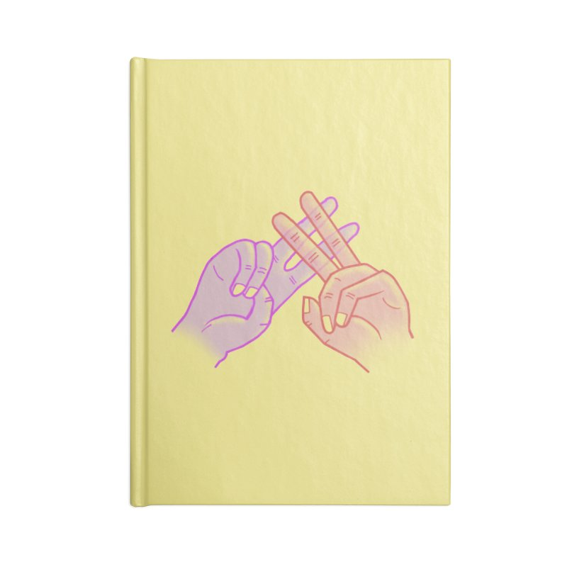 #Hashtag Accessories Lined Journal Notebook by agrimony // Aaron Thong