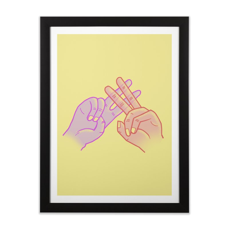 #Hashtag Home Framed Fine Art Print by agrimony // Aaron Thong