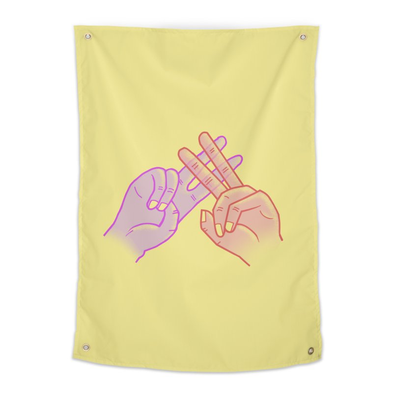 #Hashtag Home Tapestry by agrimony // Aaron Thong