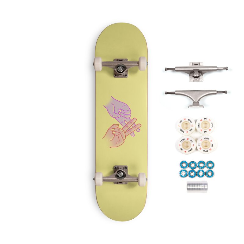 #Hashtag Accessories Complete - Premium Skateboard by agrimony // Aaron Thong