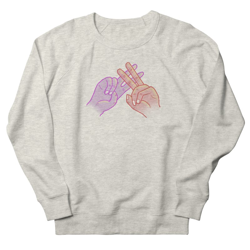 #Hashtag Women's French Terry Sweatshirt by agrimony // Aaron Thong