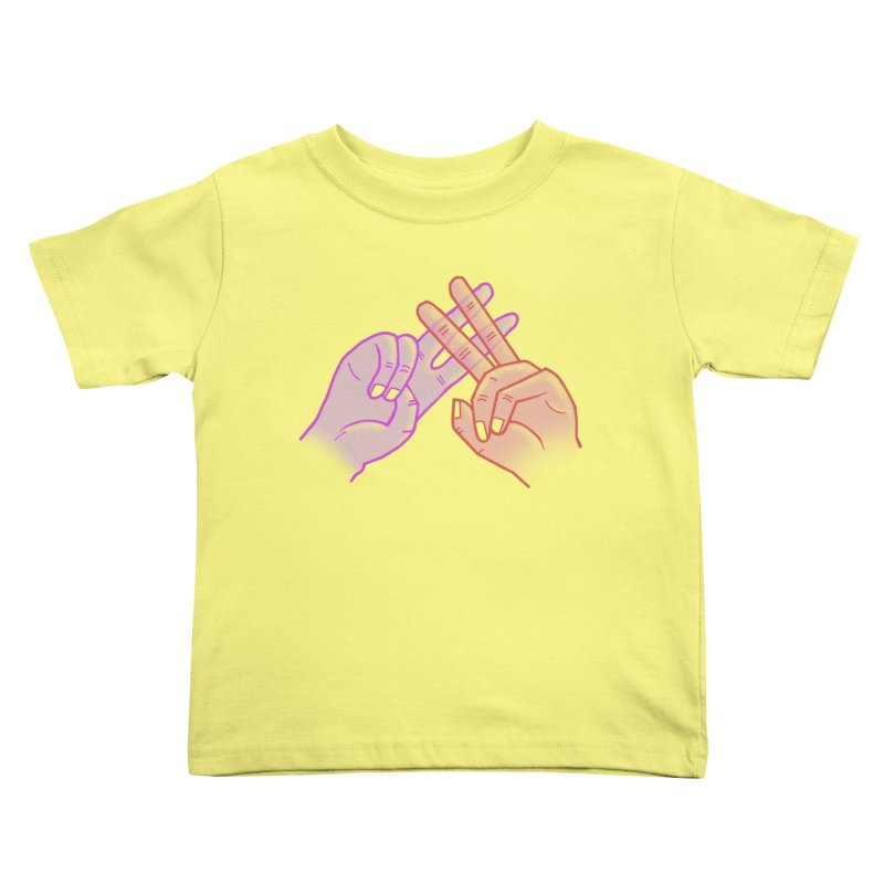 #Hashtag Kids Toddler T-Shirt by agrimony // Aaron Thong