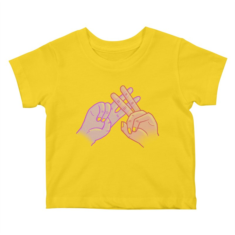 #Hashtag Kids Baby T-Shirt by agrimony // Aaron Thong