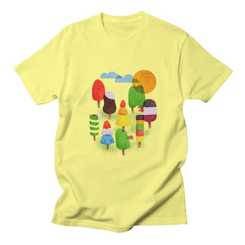 Popsicle Woods Men's T-Shirt by agrimony // Aaron Thong