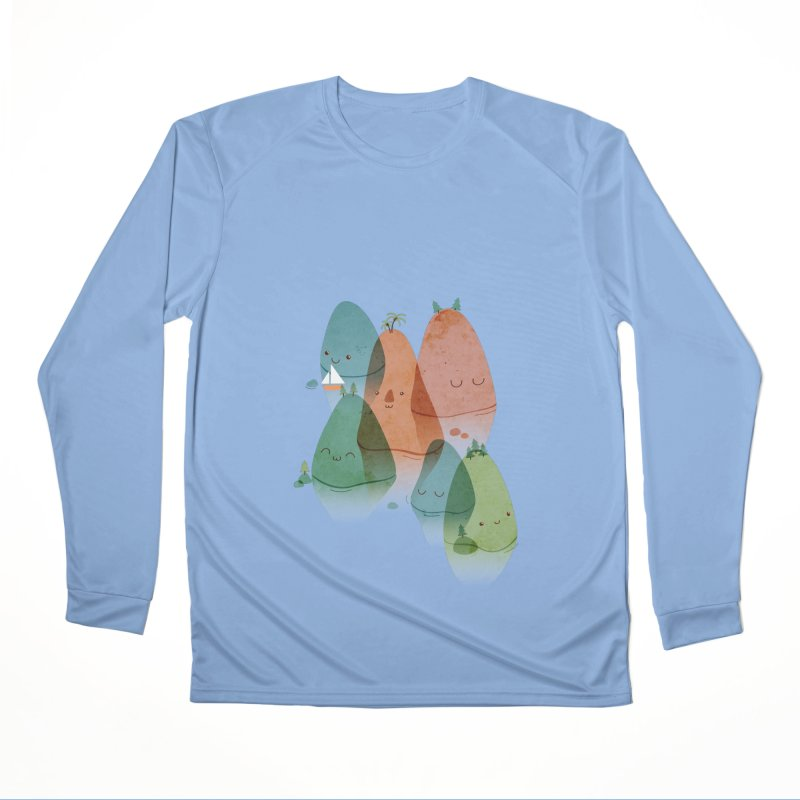 Find Your Happy Place Men's Longsleeve T-Shirt by agrimony // Aaron Thong