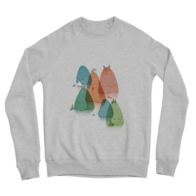 Find Your Happy Place Women's Sweatshirt by agrimony // Aaron Thong