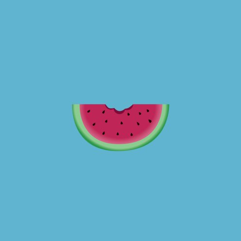 Design for Faces With Fruit - Watermelon