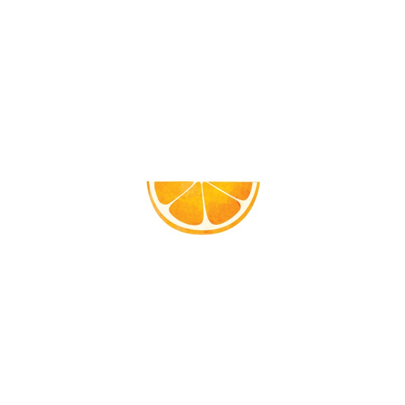Faces With Fruit - Orange Accessories Face Mask by agrimony // Aaron Thong