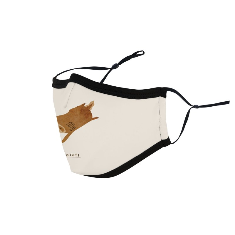 Napalotl Accessories Face Mask by agrimony // Aaron Thong