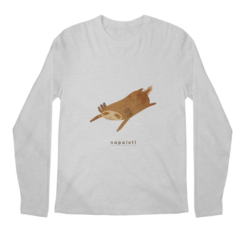 Napalotl Men's Longsleeve T-Shirt by agrimony // Aaron Thong