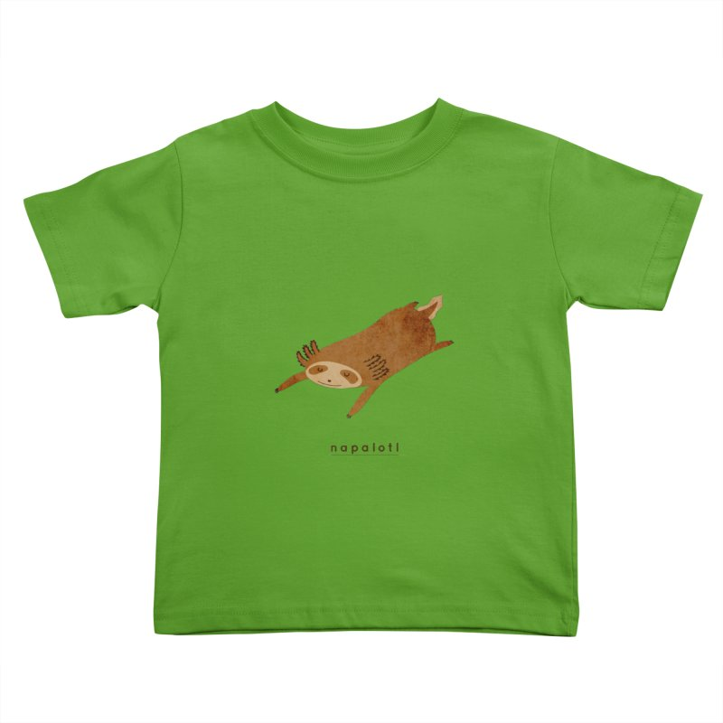 Napalotl Kids Toddler T-Shirt by agrimony // Aaron Thong