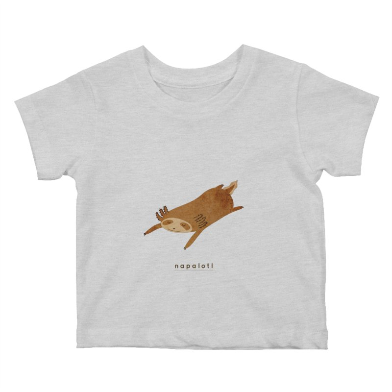 Napalotl Kids Baby T-Shirt by agrimony // Aaron Thong