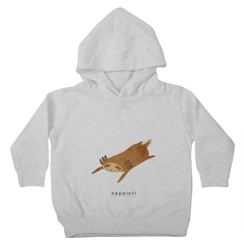 Napalotl Kids Toddler Pullover Hoody by agrimony // Aaron Thong