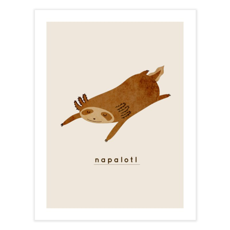 Napalotl Home Fine Art Print by agrimony // Aaron Thong